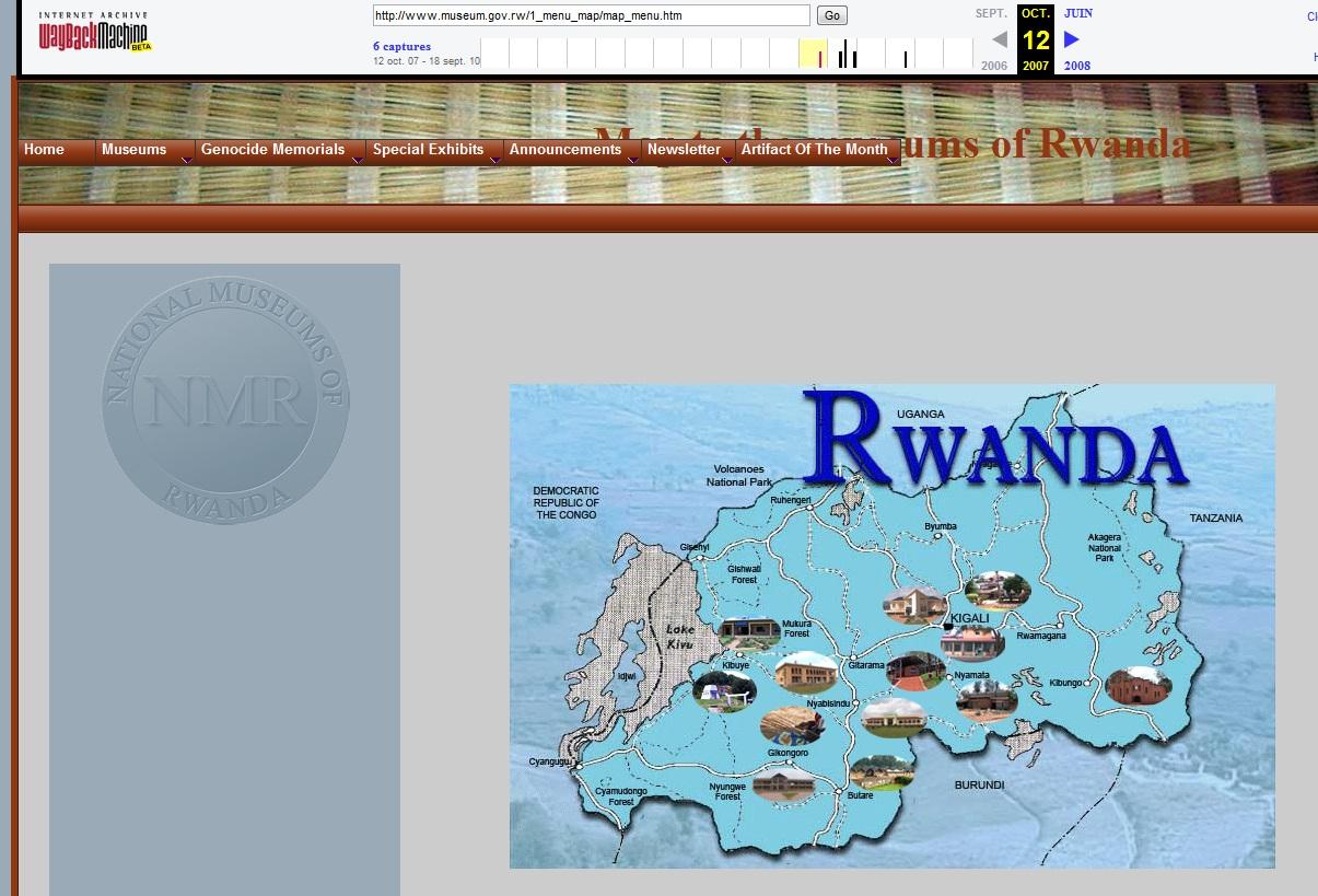 Musée national du Rwanda ancien site